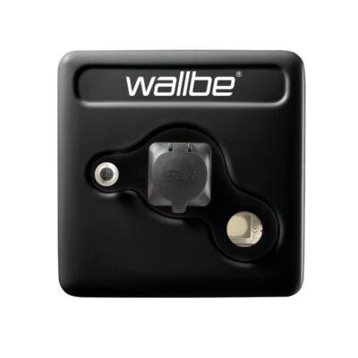 Wallbe Pro Schwarz Wallbox