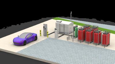 Betankung von Wasserstofffahrzeugen